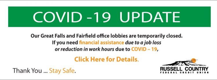 COVID - 19 Assistance - Click Here for Details
