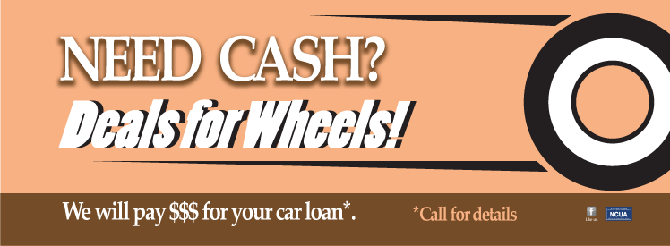 Need Cash? Deals for Wheels! We will pay dollars for your car loan. Call for details!