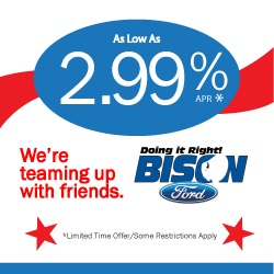 Teaming Up with Bison Ford