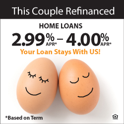 This Couple Refinanced - Home Loans 2.99% - 4.00% APR - Click Here for More Details