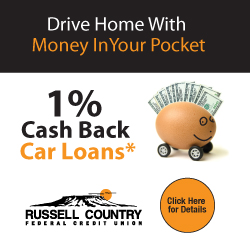 Drive Home with Money in Your Pocket - 1% Cash Back Car Loans - Click Here for Details