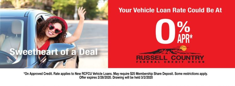Sweetheart of a Deal - Your Vehicle Loan Rate Could Be at 0% APR - Click Here For Details