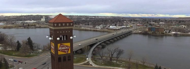 Central West Bridge and Milwaukee Depot