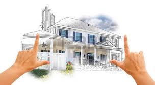 artistic house depiction